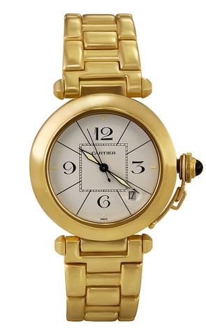 Yellow Gold Cartier Pasha