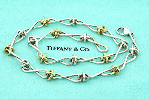 Tiffany Infinity Twist Necklace
