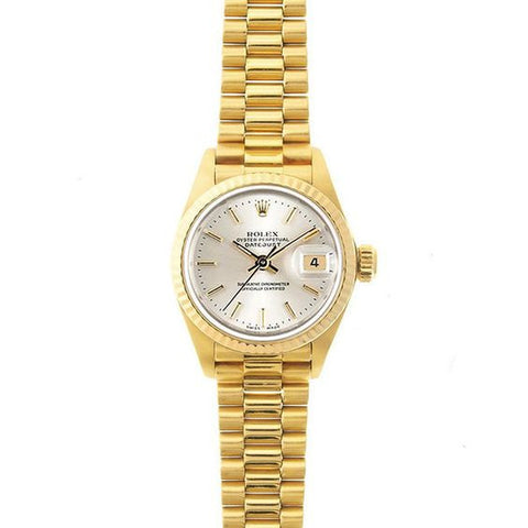 Rolex Ladies Datejust - Gold 26mm