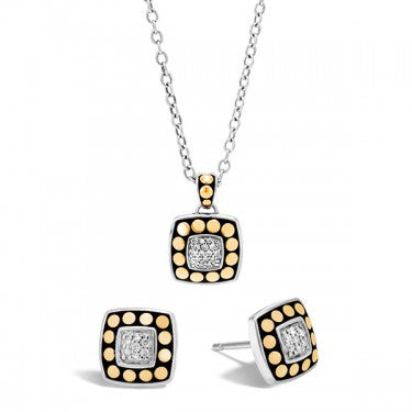 Dot Necklace & Earring Gift Set
