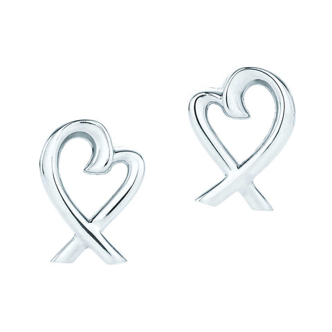 Tiffany & Co Loving Heart Earrings