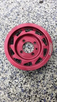 Red Perrin Crank Pulley - EVO