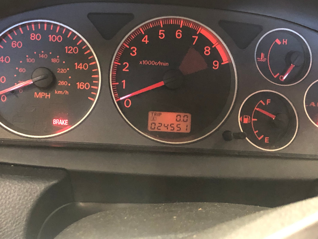 EVO cluster with 24551 miles