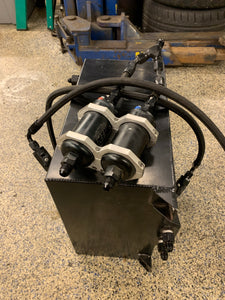 9 gallon Fuel cell with AEM pumps and valves