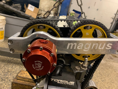 Magnus Mechanical Fuel Pump Bracket with Waterman fuel pump