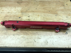 Red Perrin Fuel Rail - EVO