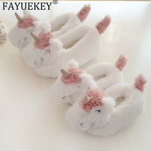 Unicorn Slippers - Keep feet warm in winter and show off