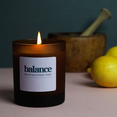 Candle - Balance, in support of The Menopause Charity