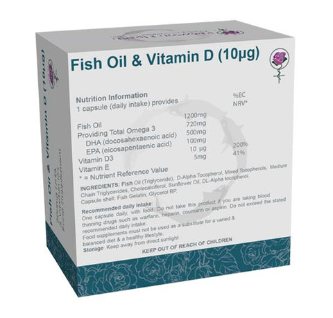 Fish Oils + Vitamin D   (90 Capsules)