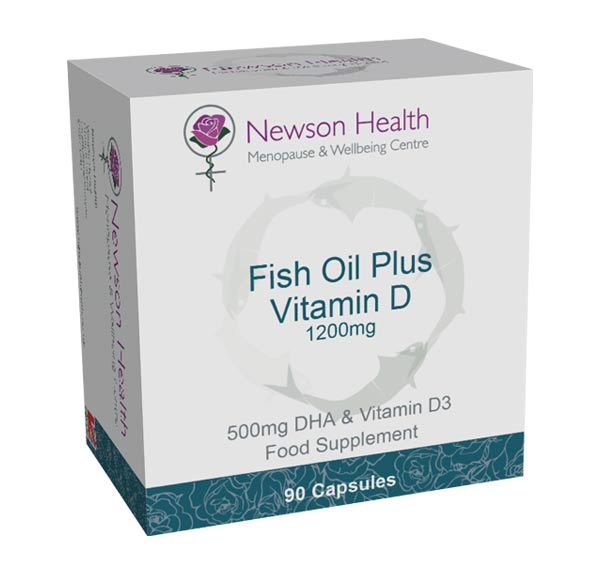 Fish Oils + Vitamin D. -  90 Capsules
