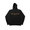 """ARMS AROUND YOU"" - Black/Rainbow F&F Hoodie"