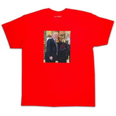 """DONALD WEST"" Red Tee - 011-EXPRESS"