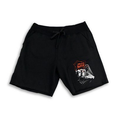 """IDENTITY CRISIS"" Black Shorts - 011-EXPRESS"