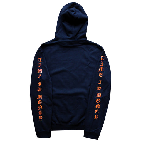 """Time Is Money"" Hoodie - Black - 011-EXPRESS"