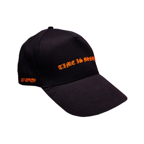 """Time Is Money"" Cap - Black - 011-EXPRESS"