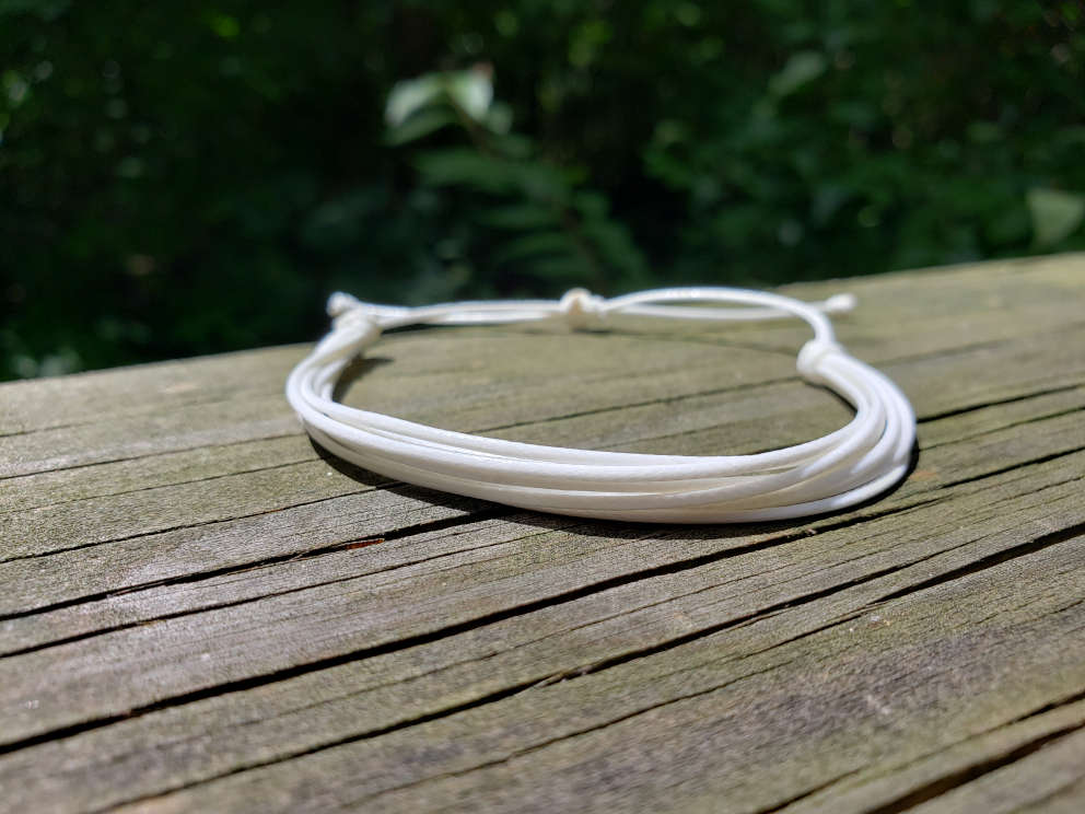 multi-band-bracelet-white