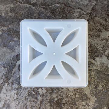 breeze block flower mold. size 11 15/16