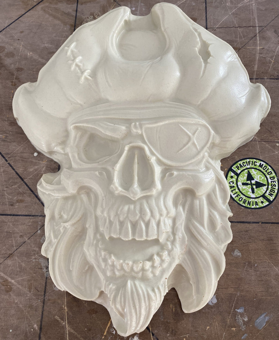 Pirate Skull ABS Mold