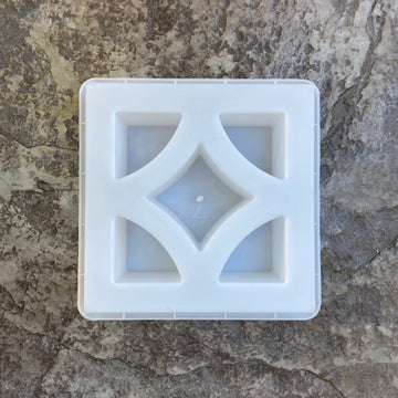 diamond breeze block mold. size 11 15/16