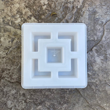 cube breeze block mold. 11 15/16