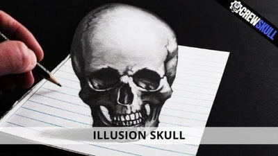 ILLUSION OF MUNKER-WHITE - SKULL