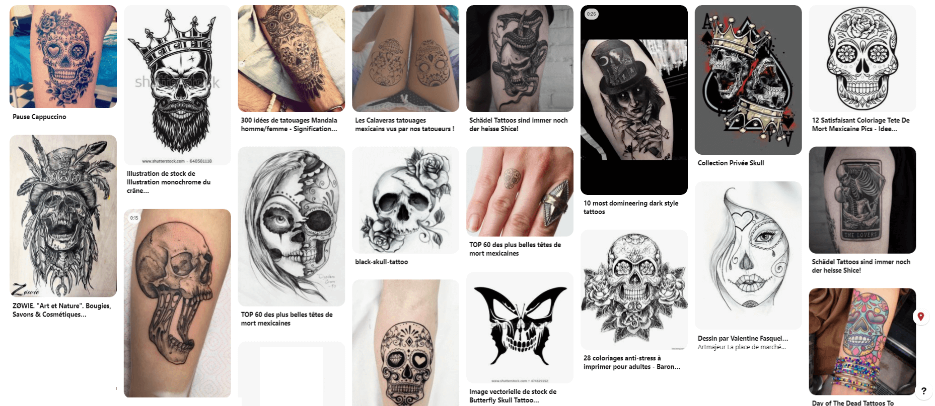calaveras tattoos
