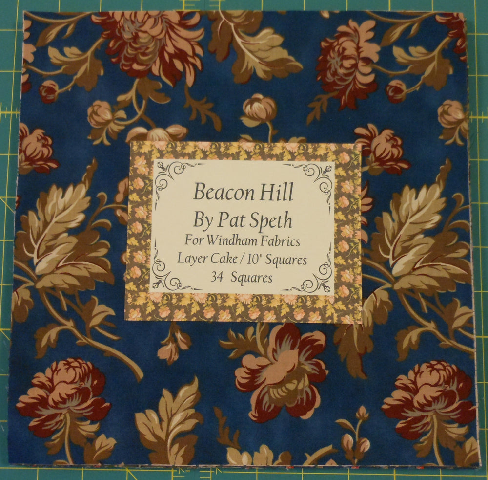"Beacon Hill Layer Cake 34 - 10"" squares"