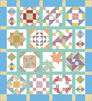 Color Me Happy Block of the Month PDF Download