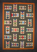 Flying Geese Puzzle Wall Quilt