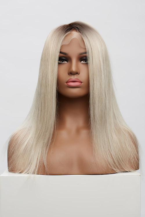 "Cool Ultra Blonde 3"" Rooted Wig"