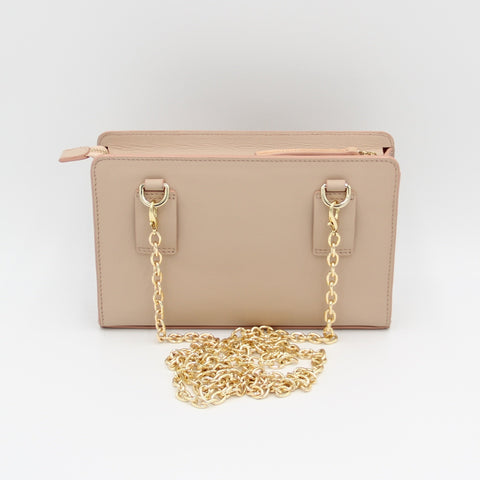 Clutch, Belt Bag, Shoulder Bag, crossbody, Crossbody Bag, Small Bag, Small Purse, Travel Purse, Evening Purse, Fanny Pack, Small Bag, Leather Purse, Leather Bag, clutches, soclutch, color-gold-champagne beige/blush edge