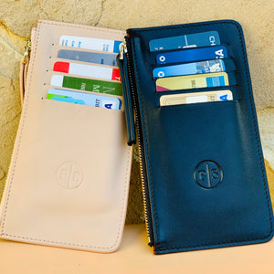 PurseSee® SoClutch Leather Slim Card Wallet