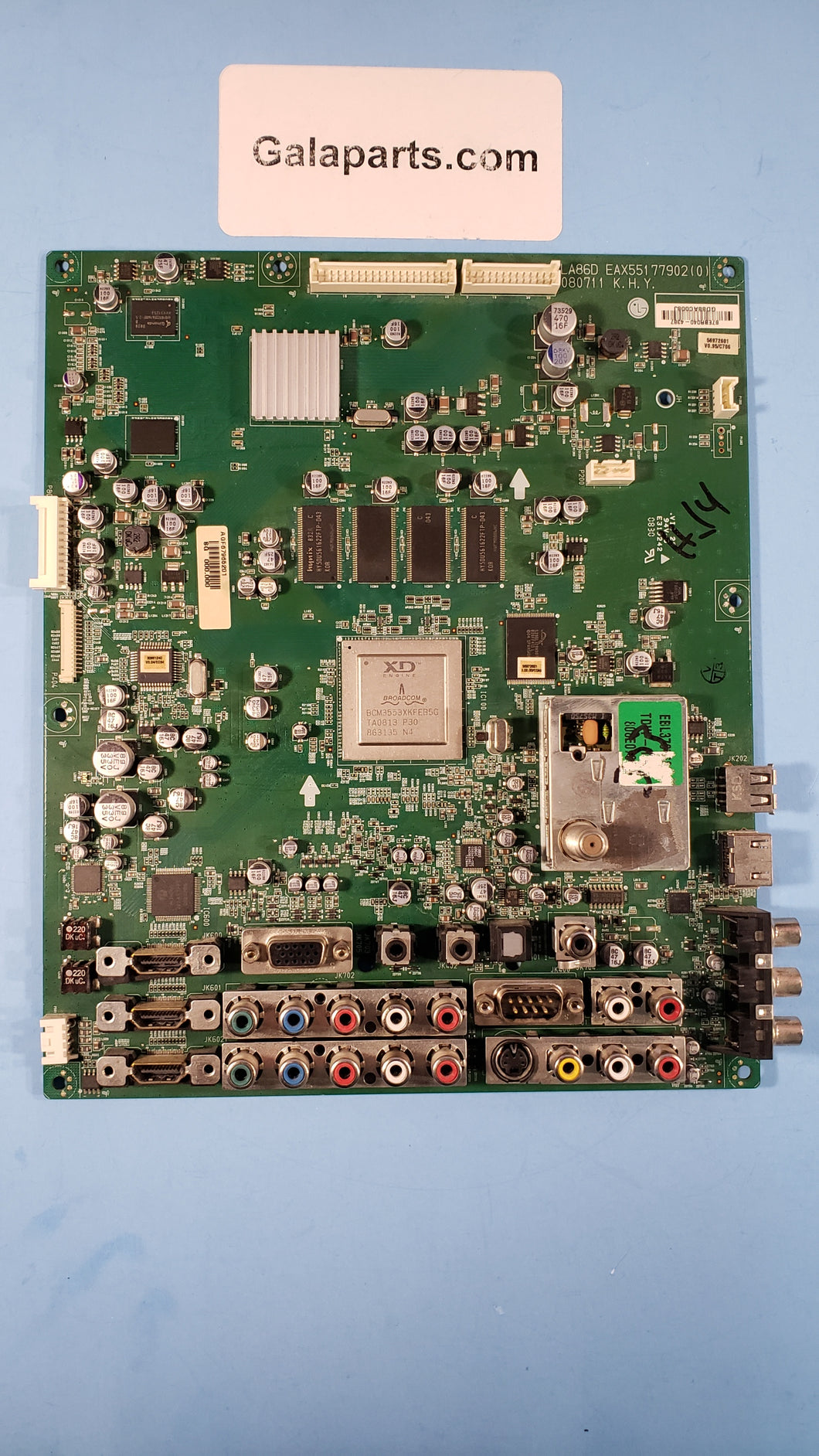 AGF67965201 EAX55177902 Main Board for LG 47LG70-UG - Electronics TV Parts - GalaParts.com