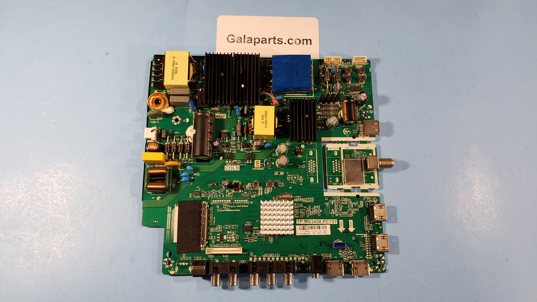 RTU4921 MAIN BOARD TP.MS3458.PC757 - Electronics TV Parts - GalaParts.com