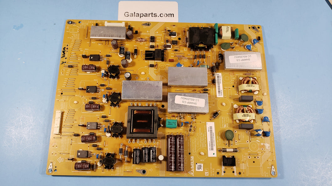 DPS-162KP POWER BOARD LC-60LE640U RUNTKA958WJQZ - Electronics TV Parts - GalaParts.com