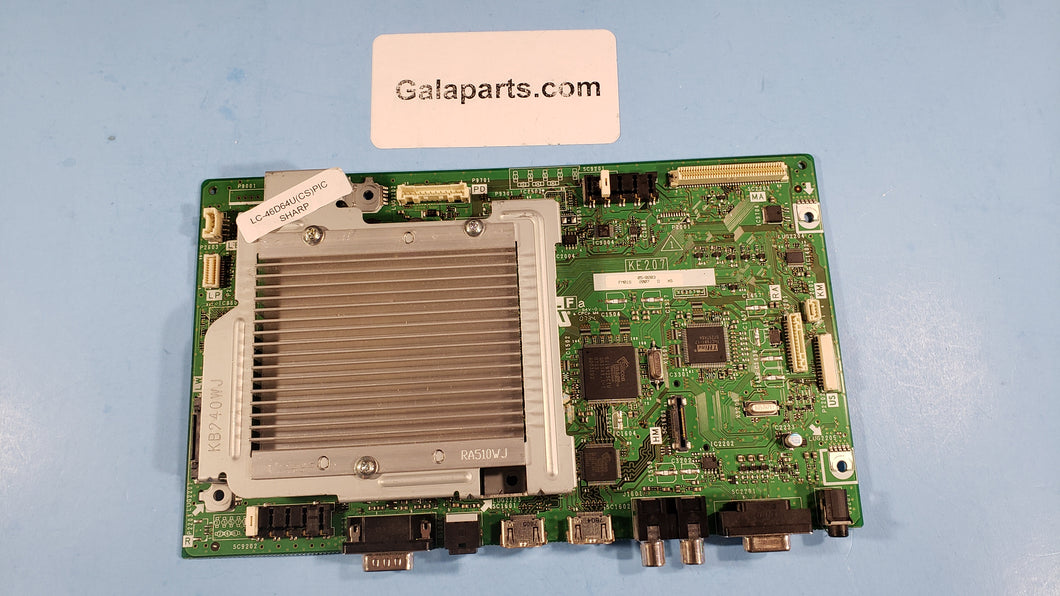 KE207 FM01S LC-46D64U XE207WJ main board - Electronics TV Parts - GalaParts.com