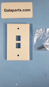 CAT CTSWP-2WP 2-PORT QP WALLPLATE commercial SAN 772