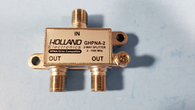 10 PCS X 2-WAY SPLITTER 2-1500 MHz - Electronics TV Parts - GalaParts.com