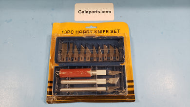 13 pieces hobby knife set
