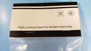 high landing gears for quadcopter drone SK480 F450 F550 BLACK - Electronics TV Parts - GalaParts.com