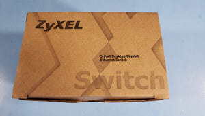 5-Port Desktop Gigabit Ethernet Media Switch ZyXEL GS-1051 - Electronics TV Parts - GalaParts.com