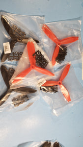 A pairs of 3-blade plastic propellers 6045 6x4.5 CW CCW for RC plane drone FREE CANADA SHIPPING - Electronics TV Parts - GalaParts.com