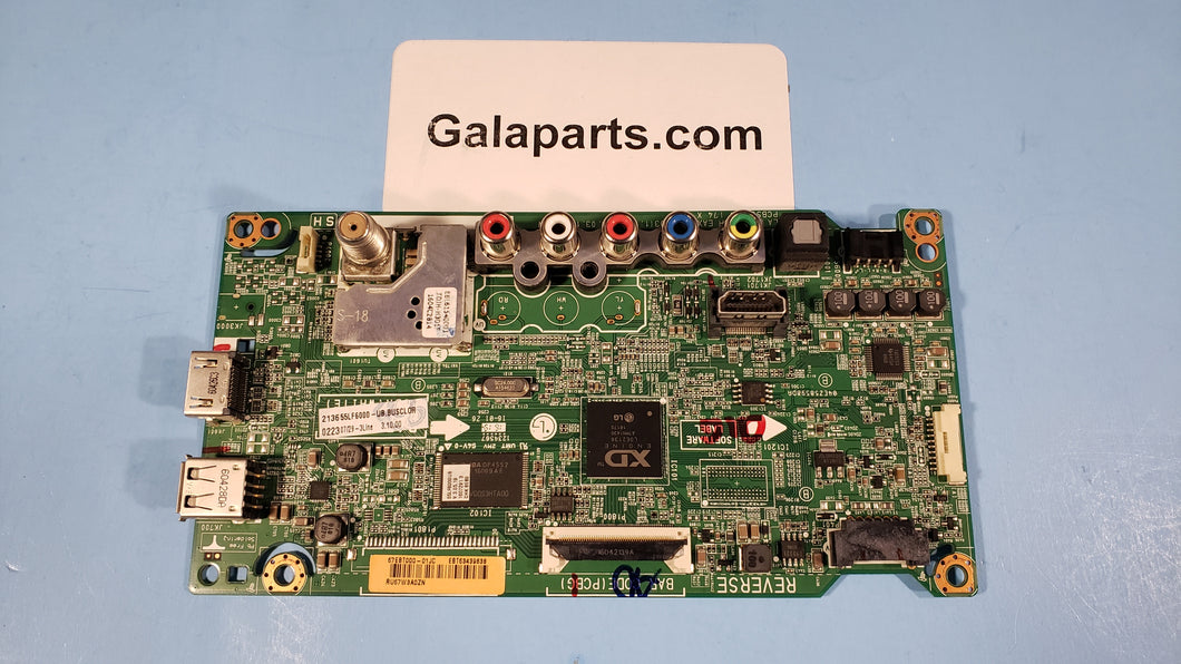 55LF6000 EBT63439838 EAX66242603 LG MAIN BOARD - Electronics TV Parts - GalaParts.com
