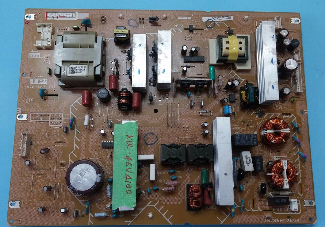 1-876-467-13 IP5 A1566756B   KDL-46V4100 SONY POWER SUPPLY board - Electronics TV Parts - GalaParts.com
