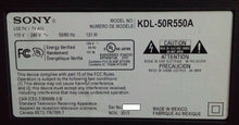 Load image into Gallery viewer, 1-888-308-11, APS-351 (CH)147449611 KDL-50R550A SONY power supply  board