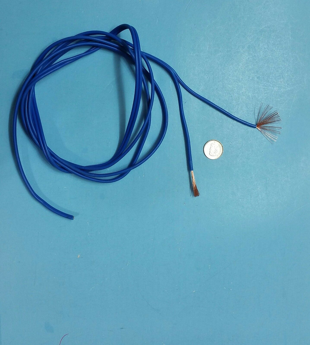 2m long blue, 2Pin,50 cores,flexible electric cable wire for Car,  RC,  Servo FREE CANADA SHIPPING - Electronics TV Parts - GalaParts.com