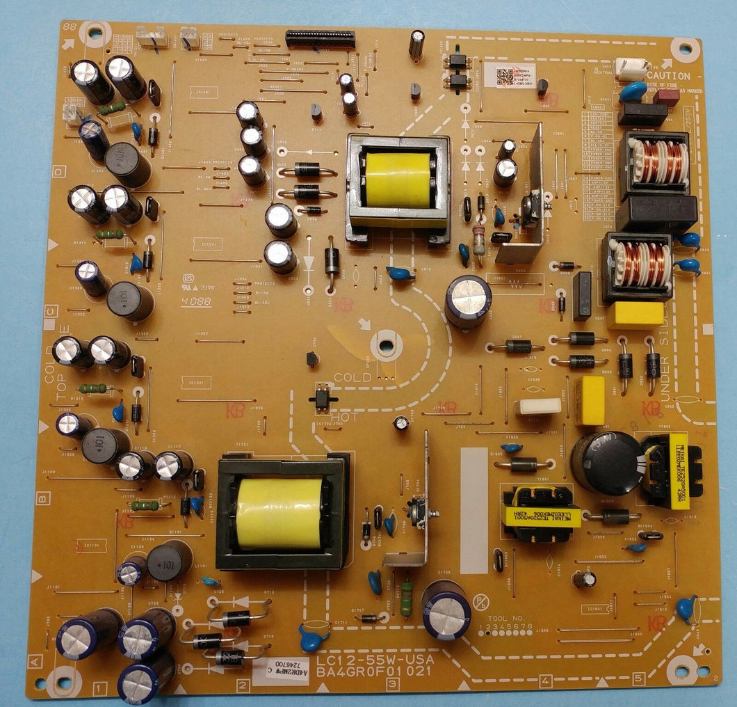 LC12-55W-USA  BA4GR0F01021 A4DR2MPW Power Supply / LED Board 55PF4909/F7 PHILIPS