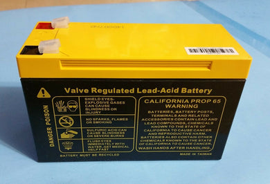 1pcs 12v 8Ah non-spillable valve regulated lead acid battery (US standard) - Electronics TV Parts - GalaParts.com