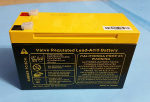 1pcs 12v 8Ah non-spillable valve regulated lead acid battery (US standard)