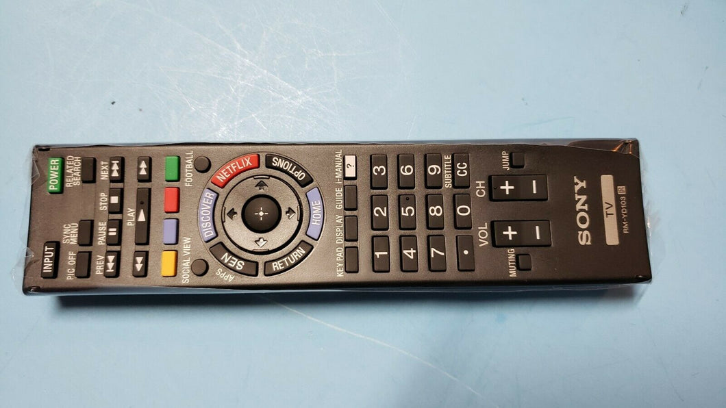 SONY RM-YD103 TV Remote Control original - Electronics TV Parts - GalaParts.com